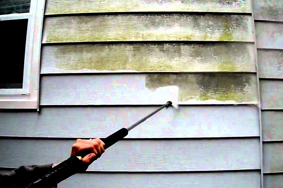 Power Wash House Siding - West Orange Power Wash. West Orange, NJ