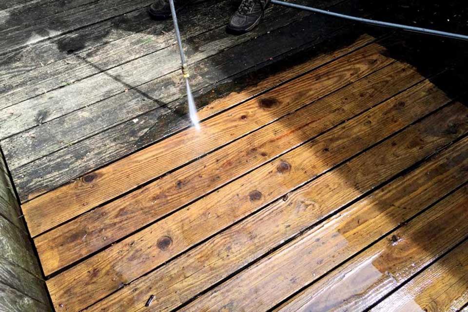 West Orange Wash Deck